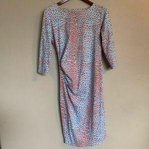 J. Mclaughlin Leopard Print Dress